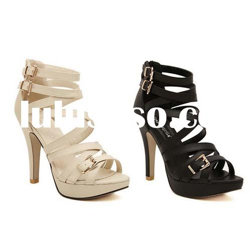 SY72 strappy high heel shoes wholesale dress shoes plarform skidproof shoes latest women sandals