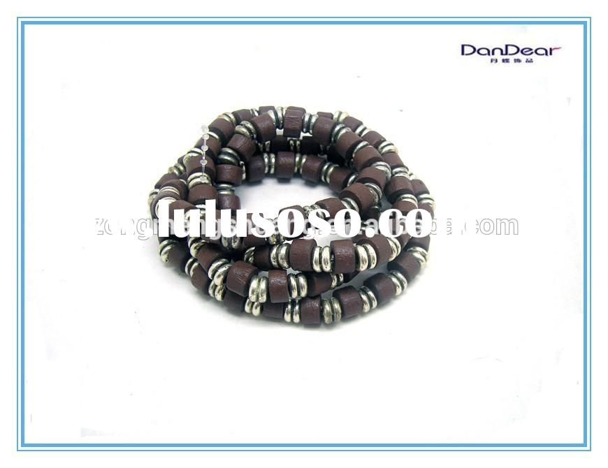 Wholesale Jewelry Handmade Wood Bead Bracelet Design Bracelet For Sale