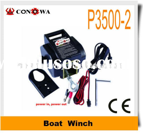 Boat Electric Winch 3500lb 12V electric anchor winches for boats
