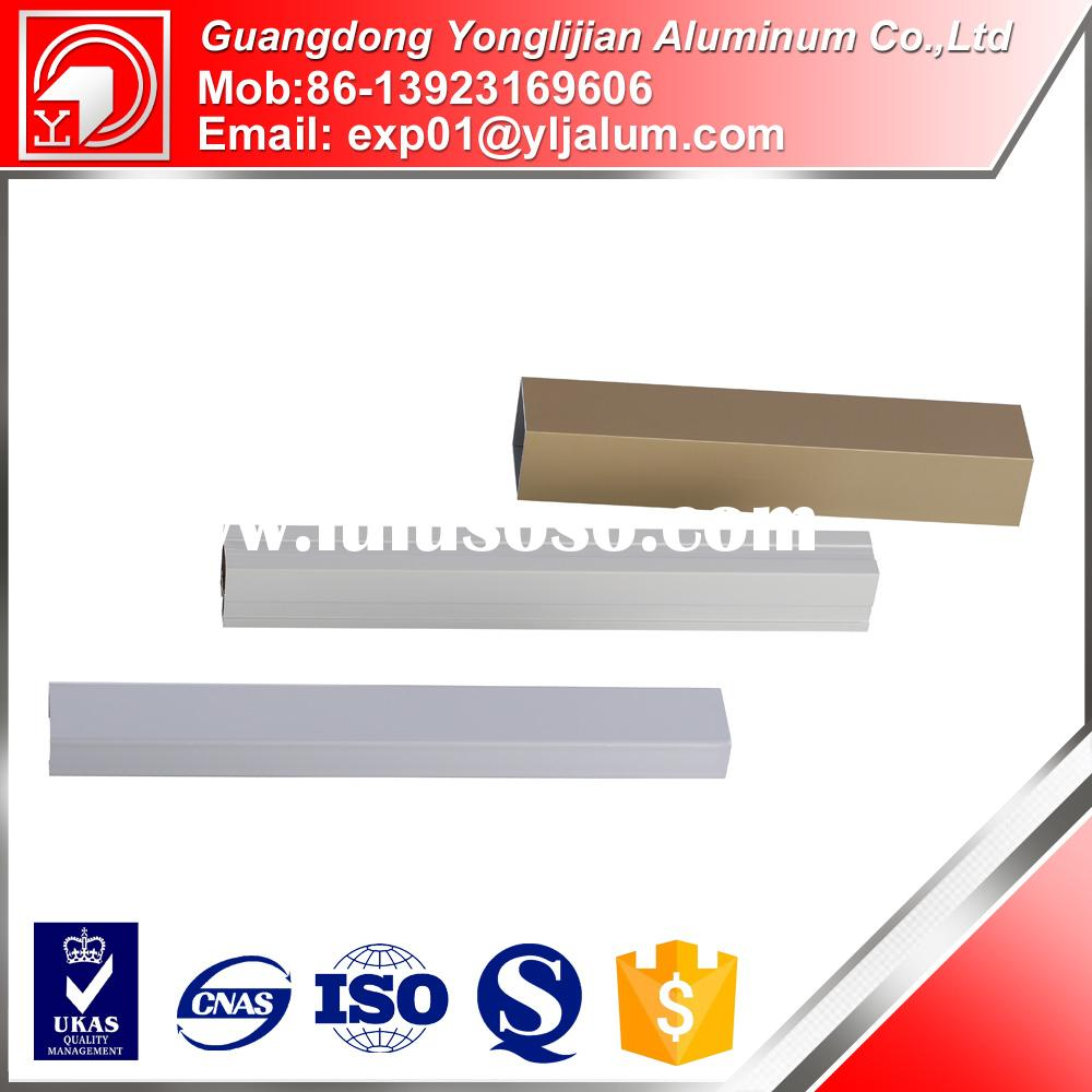 China advanced company manufacture 80/20 extruded aluminum alloy profiles for door producer