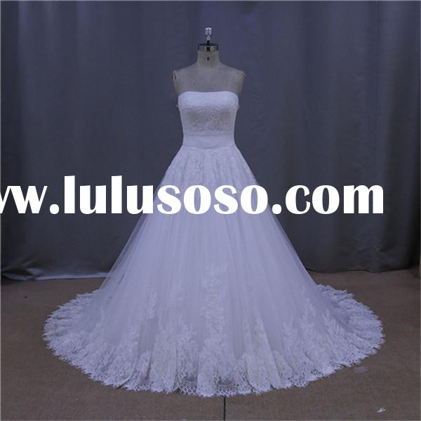 china wholesale cheap black white red wedding gown