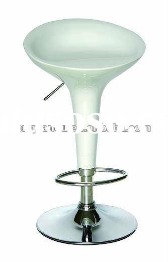 Cheap Used Modern Design White Swivel Bar Stool QO-101