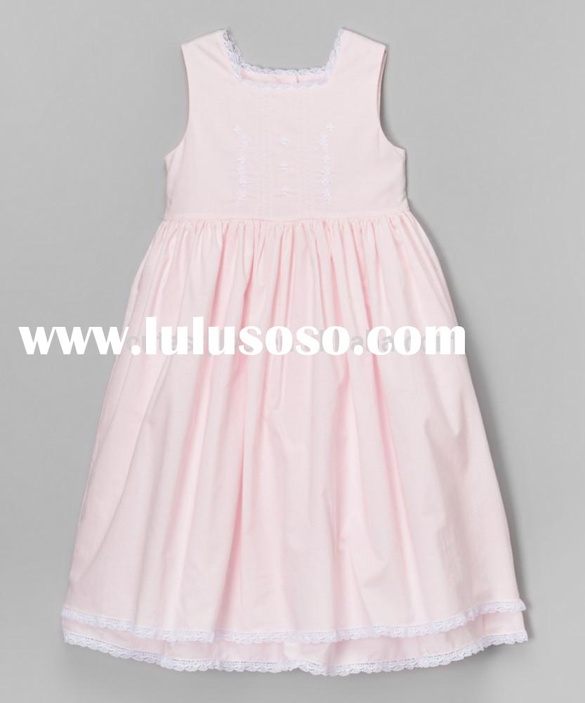 Fashion Summer Girls Princess Dresses Pink Cape Cod Lace Dress For Toddler & Girls Wears Z-GD807