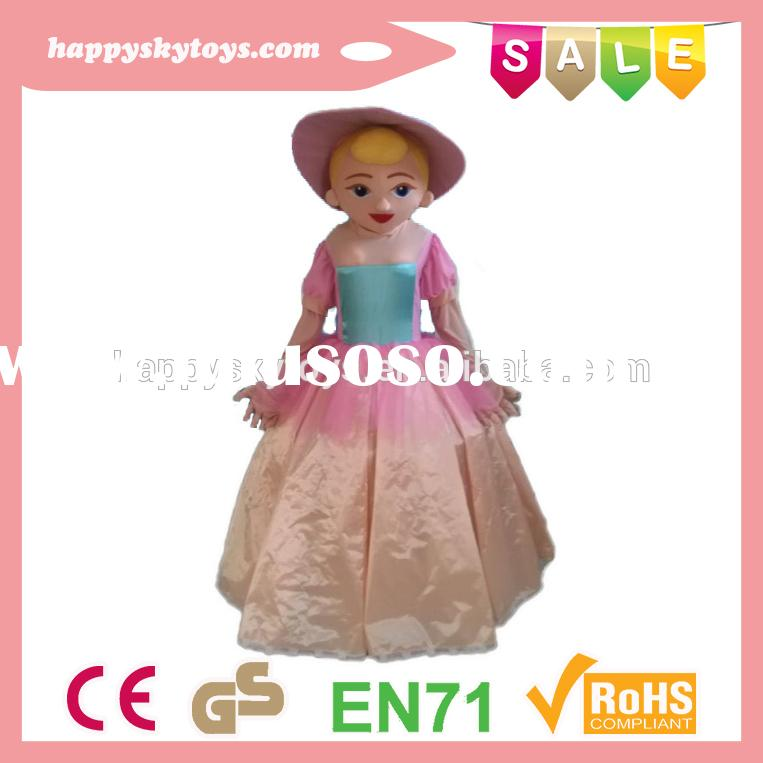 Funny kid toys!!!best selling mascot costume,cartoon costume for women,charming princess costume