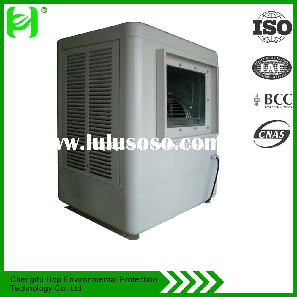 HOP airflow 4000m3/h window type water cooler with centrifugal fan,Water conditioner and air conditi