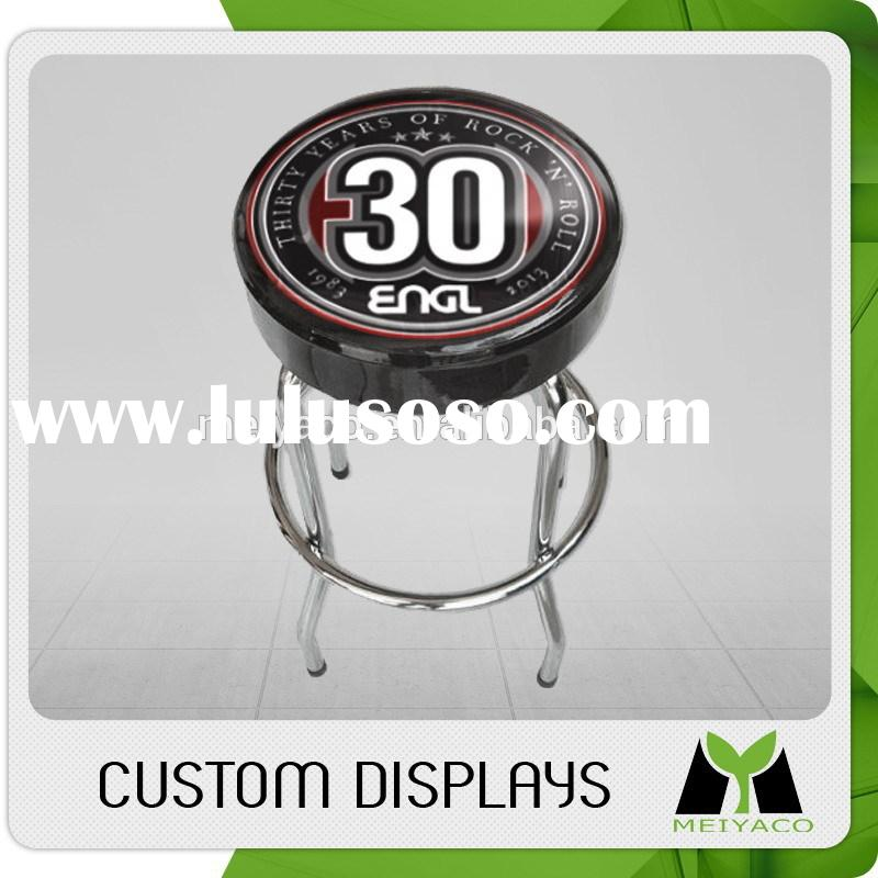 Top quality hot selling modern pu leather white bar stools