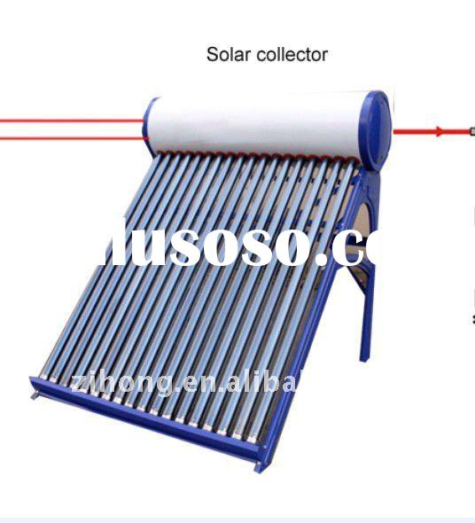 hybrid unpressured solar air conditioner and hot water,water cooler air conditioner