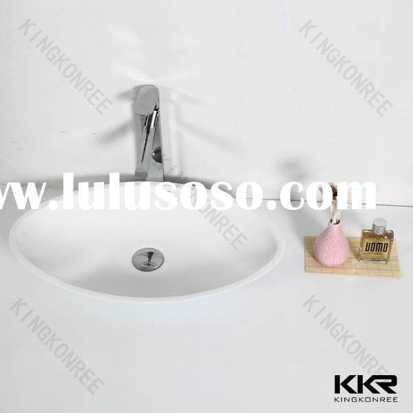 modern discount bathroom solid surface sinks for small spaces