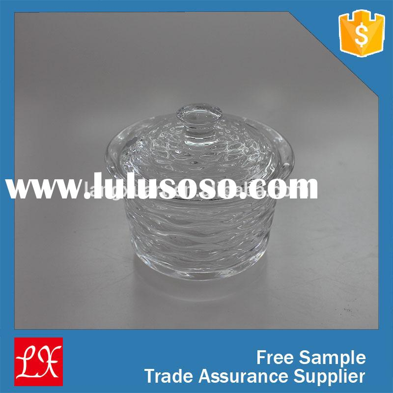 China factory wholesale 2015 Big Sale Stock Glass Jar With Lid