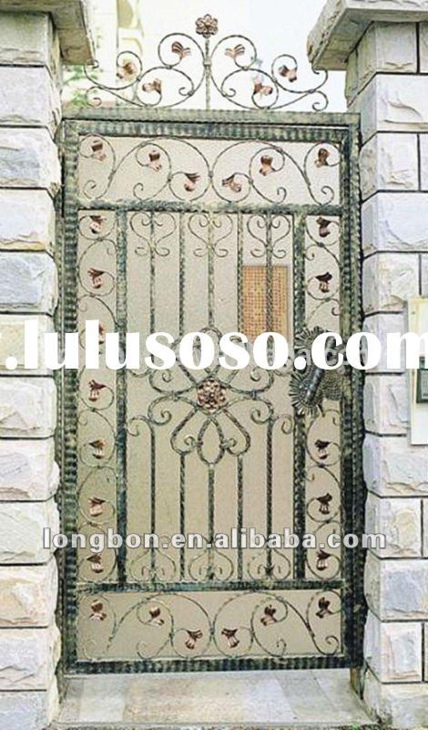 Top-selling wrought iron security screen doors