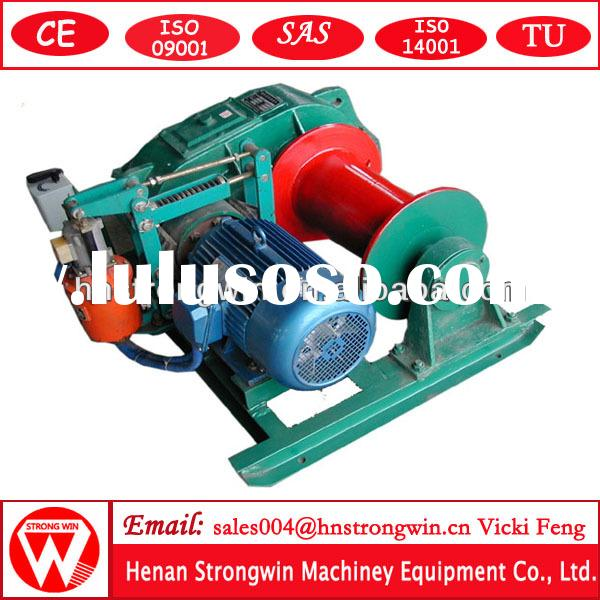 China wholesale India favored JM 5 ton wire rope pulling electric winch electric winch 110v small el