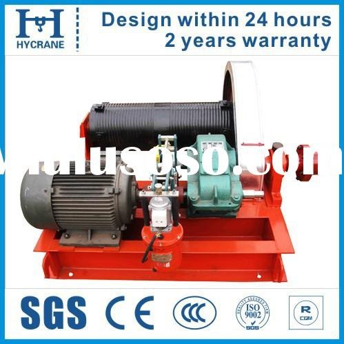 Hot selling wire rope slow speed small 110 volt winches